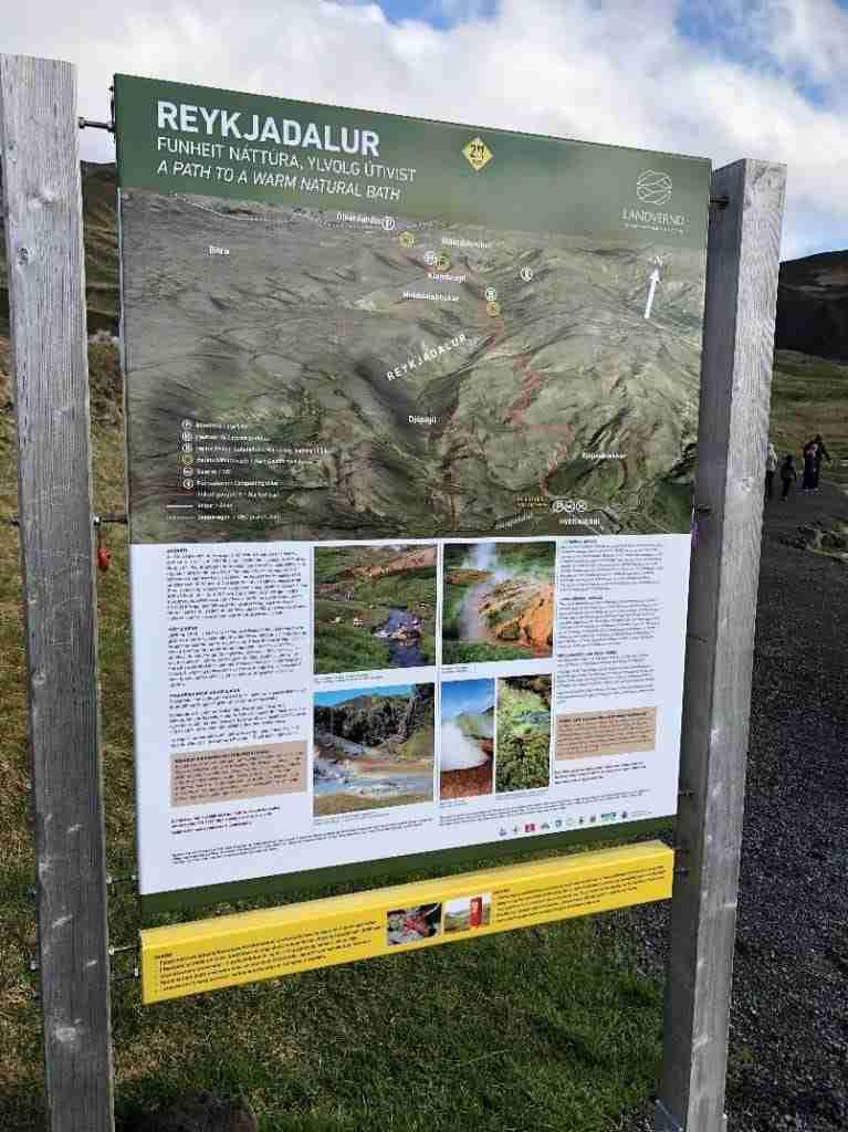 Reykjadalur steam valley