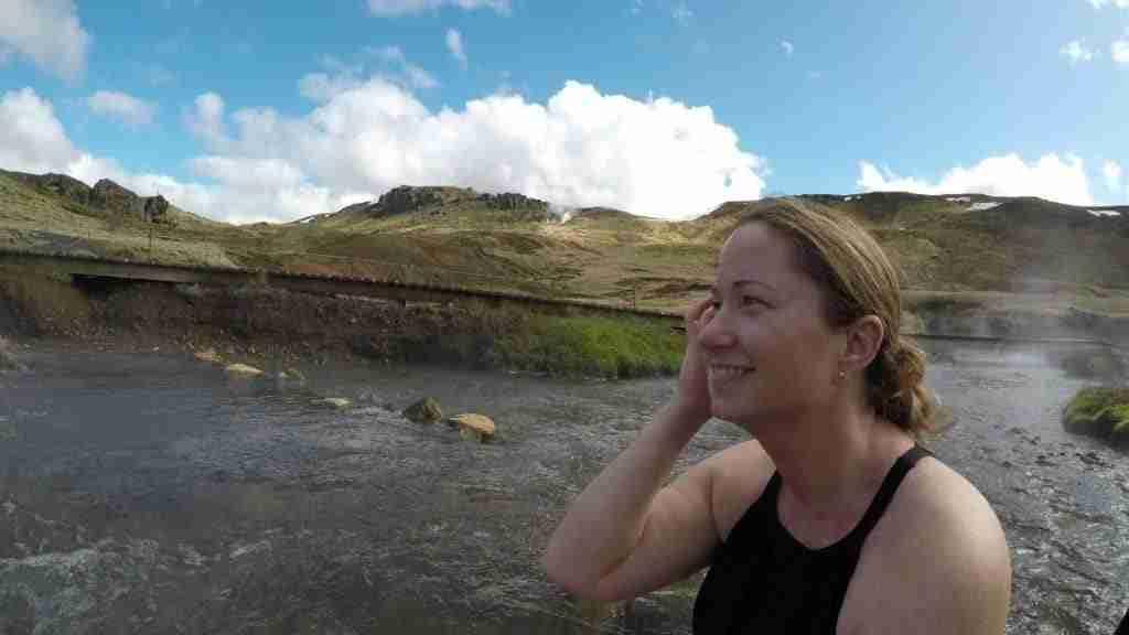 People enjoying a self drive road trip in Iceland
