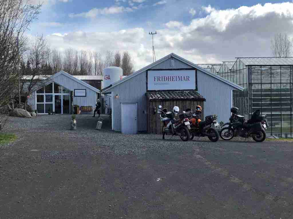Road trip to friðheimar iceland