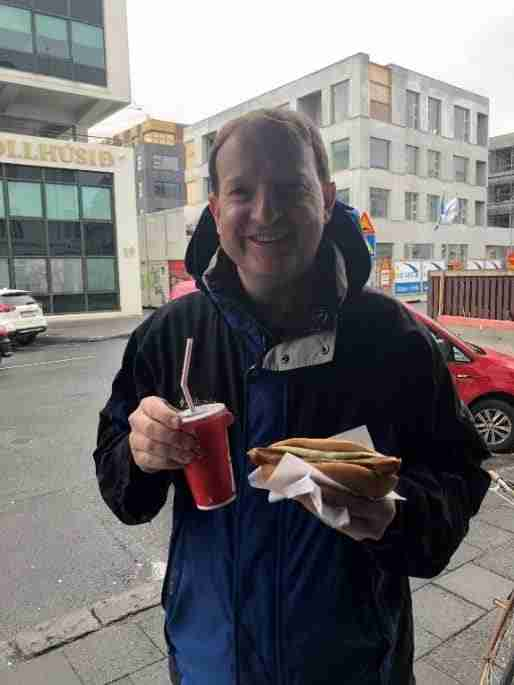 famous hot dogs in iceland