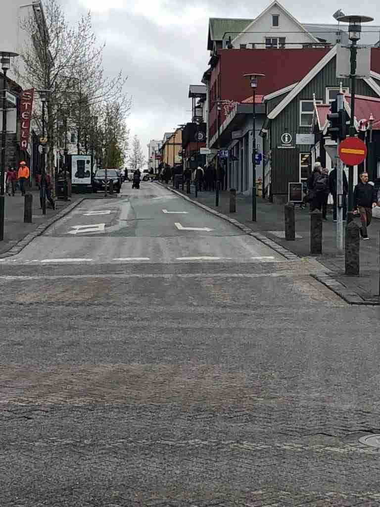 Streets of Reykjavík iceland