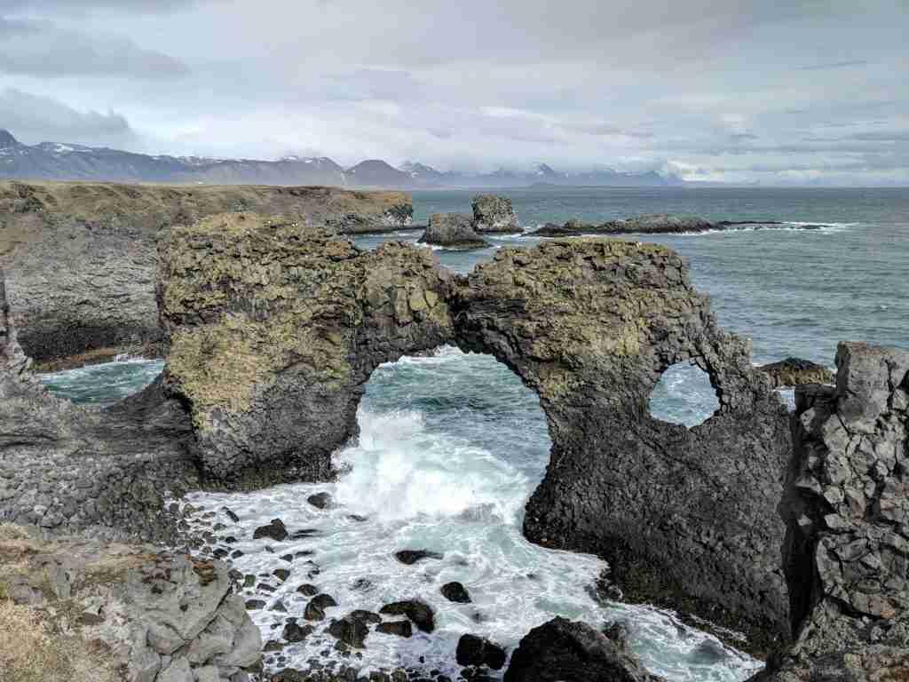 Arnarstapi cliffs iceland