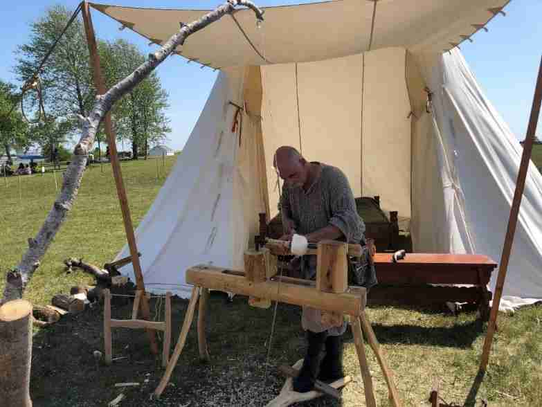 Gimli festival viking village