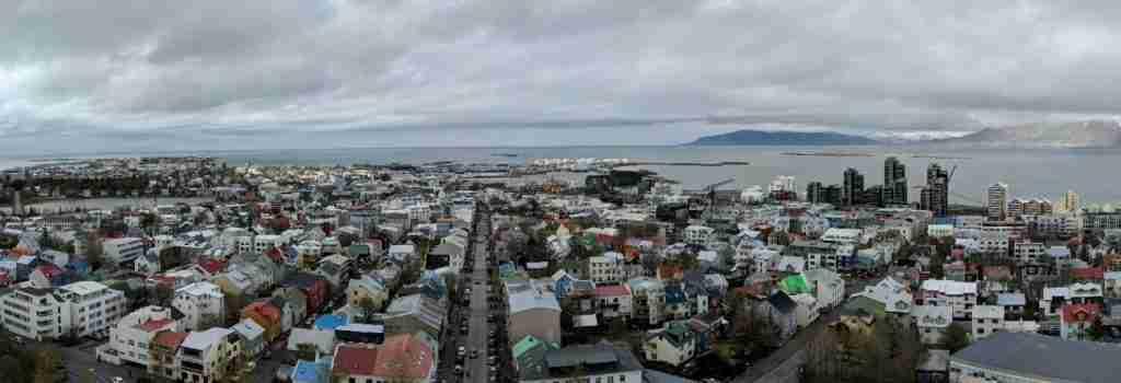 Reykjavík city in iceland